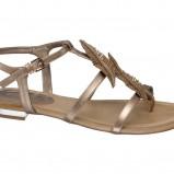 Sandałki z piórkami Deichmann, cena
