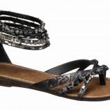 sandały Deichmann ze zdobieniami - z kolekcji wiosna-lato 2011