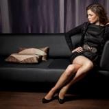 seksowna sukienka Orsay w kolorze czarnym - świąteczna kolekcja 2012