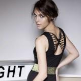 seksowna sukienka Terranova w kolorze czarnym - ubrania dla kobiet na zimę 2013