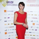 seksowna sukienka wieczorowa w kolorze czerwonym - Anna Popek