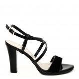 seksowne sandałki Venezia w kolorze czarnym - kolekcja na lato 2013
