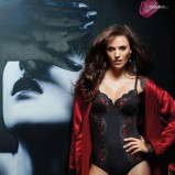 seksowny gorset w kolorze czarnym - Sylvia Speidel