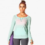 seledynowa koszulka H&M - trendy 2013