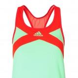 seledynowa sukienka Adidas - lato 2012