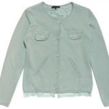 seledynowy sweter Silk and Soie - kolekcja wiosenna