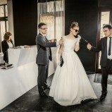 Sesja ślubna jak scena z filmu