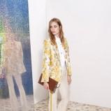 skórzana kopertówka Stella McCartney w kolorze brązowym - wiosna i lato 2013