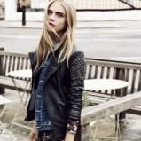 skórzana ramoneska Pepe Jeans w kolorze czarnym - zima 2013/14