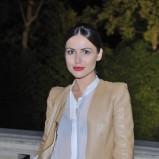 skórzana ramoneska w kolorze brązowym - Marta Żmuda-Trzebiatowska
