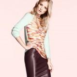 skórzana spódnica H&M w kolorze brązowym - modne spódniczki