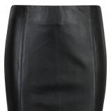 skórzana spódniczka Cubus w kolorze czarnym - moda damska