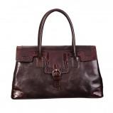 skórzana torebka Caterina w kolorze brązowym - nowa kolekcja