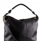 skórzana torebka H&M w kolorze czarnym - najmodniejsze torebki