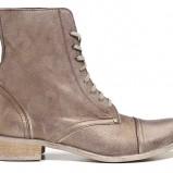 skórzane botki Badura w kolorze brązowym - obuwie na wiosnę 2013