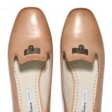 skórzane mokasyny Badura - obuwie damskie na wiosnę 2013