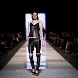 skórzane spodnie w kolorze czarnym - Agata Wojtkiewicz
