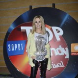 skórzane spodnie w kolorze czarnym - Agnieszka Popielewicz
