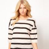 śliczna bluzeczka Asos w paski - kolekcja damska