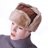 śliczna czapka Grey Wolf w kolorze brązowym - modne dodatki 2012/13