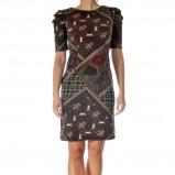 śliczna sukienka Grey Wolf w kolorze brązowym - kolekcja damska