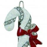 śliczna zawieszka SIX w kolorze białym - świąteczne akcesoria