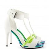 śliczne sandałki H&M w kolorze białym - sandałki na lato 2013