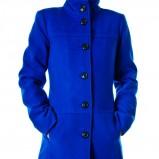 śliczny płaszczyk Grey Wolf w kolorze kobaltowym - kolekcja na jesień i zimę