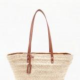 słomkowa torebka Bershka - torebki na lato
