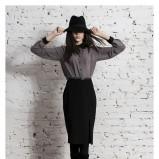 spódnica Echo w kolorze czarnym - jesień/zima 2012/2013