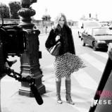 spódnica Reserved we wzorki - jesień 2011