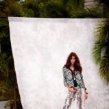 spodnie F&F w zwierzęce wzory - lato 2012