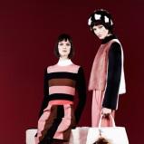 spodnie Fendi w kolorze koralowym - moda na jesień 2013