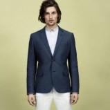 spodnie H&M w kolorze białym - kolekcja wiosenno/letnia 2013