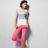 spodnie H&M w kolorze różowym - moda na wiosnę i lato 2013