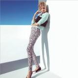 spodnie H&M w panterkę - wiosna 2013