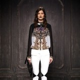 spodnie Just Cavalli w kolorze białym - moda 2013/14