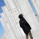 spodnie Sky is the limit w kolorze khaki - jesień i zima 2013/14