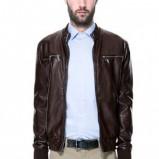 spodnie ZARA w kolorze beżowym - kolekcja wiosenno/letnia 2013