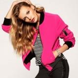 sportowa bluza Juicy Couture w kolorze różowym - kolekcja świąteczna 2012