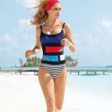 sportowy strój kąpielowy Sunflair - moda plażowa 2013