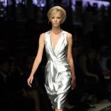 srebrna sukienka Simple - jesień/zima 2012/2013