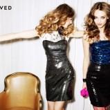 srebrna sukienka wieczorowa Reserved - kolekcja wieczorowa