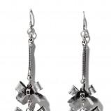 srebrne kolczyki Reserved - moda zimowa
