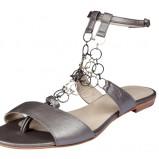 srebrne sandały BGN - lato 2011