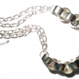 srebrny naszyjnik Glitter  - minimalistyczna biżuteria