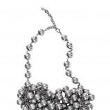srebrny wisiorek H&M - lato 2012