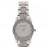 srebrny zegarek Asos - sezon wiosenno-letni
