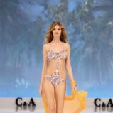 strój kąpielowy C&A we wzorki - lato 2012