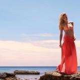 strój kąpielowy Calzedonia w kolorze pomarańczowym  - trendy na lato 2013